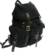 Medium Cotton Canvas Backpack
