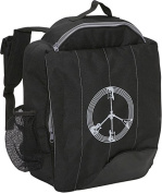 Little D Black Guitar Peace Backpack for Kids