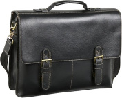 Classical Leather Organizer Briefcase