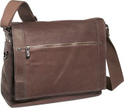 Busi-Mess Essentials - Columbian Leather Messenger Bag