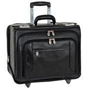 """Sheridan Leather Wheeled 17"""" Laptop Catalog Case"""
