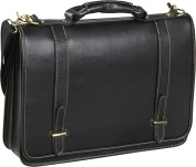 Traditional Double Slip-in Executive Briefcase