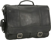 David King & Co. Porthole Briefcase