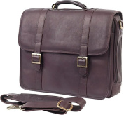 Claire Chase 152E-cafe Porthole Computer Briefcase - Cafe