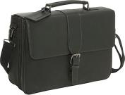 Till Death Do Us Port - Leather Laptop Briefcase