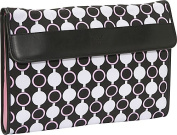"""Kailo Chic by Nuo Slim 15.6"""" Laptop Sleeve Mod Circles"""