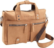 "15"" TREKKER CLassic Leather Brief"