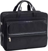 P Series Elston Nylon Double Compartment Laptop Case
