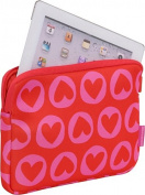 """Agatha Laptop Skin 10"""" Heart Pins"""