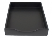 Nappa Vitello Letter Tray without Lid