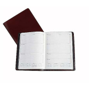 Italian Leather Desk Size Weekly Planner