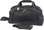 Claire Chase 328E-black Weekender Duffel - Black