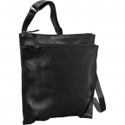 NS Super Slim w/ Double Top Zip Shoulder Bag