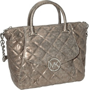 Fulton Quilted Large Top Zip Satchel