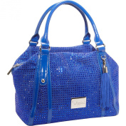 Blue Genuine Leather