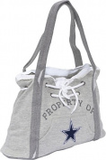NFL Hoodie Purse Grey/Dallas Cowboys