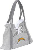 NFL Hoodie Purse Grey/San Diego Chargers