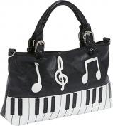 Piano Keyboard Handbag