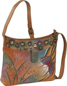 ANNA by Anuschka Small Shoulder Bag - Jungle Butterfly