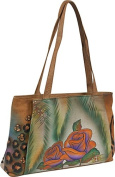 ANNA by Anuschka Large Shopper - Jungle Rose