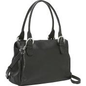 Square Top Zip Handbag