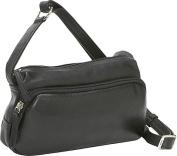 Small Twin Top Zip Handbag