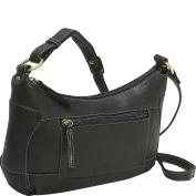 Compact Top Zip Handbag