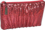 Whiting and Davis Classic Soft Shirred Clutch
