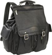 David King& Co 354B Jumbo Backpack- Black