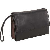 Deluxe Clutch With Shoulder and Wrist Strap