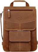 Leather iPad Flight Jacket w/ Backpack Option