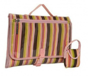 Quick Change Kit in Pink Monkey Stripes