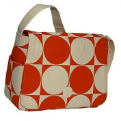 Moppet Diaper Bag: Fabric