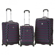 Rockland Fusion 3-pc. Expandable Spinner Luggage Set - Icon