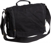 Washed Canvas Leisure Messenger Bag