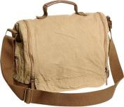 Washed Canvas Leisure Messenger Bag