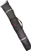 Athalon Sportsgear 344Black Athalon Double Ski Bag Padded - 180cm Black