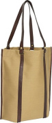 Eco-Chic Canvas Roll-Up Tote