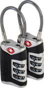 TSA Sentry Cable Lock - 2 Pack