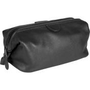 Royce Leather 265-BLACK-5 Deluxe Toiletry Bag - Black