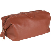 Royce Leather Toiletry Bag - Top Grain Cowhide Leather