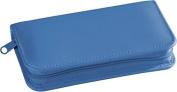 Royce Leather 551-RB-6 Travel & Grooming Kit - Ocean Blue