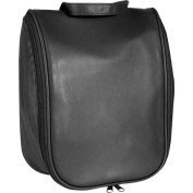 Royce Leather 261-BLACK-5 Toiletry Bag With Removable Pouch - Black