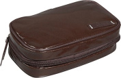 Clava 885016BRW Wellie Small Toiletry-Cosmetic Case - Brown