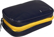 Clava 885016NAVY Wellie Small Toiletry-Cosmetic Case - Navy