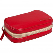 Clava 885016RED Wellie Small Toiletry-Cosmetic Case - Red