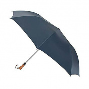 Jumbo Auto Umbrella - Wood Handle - Solid Colors