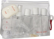 Lewis N Clark 7725 Belle Hop 3 N 1 Carry On Bottle Set
