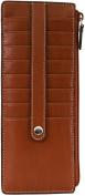 Audrey Credit Card Case With Zip Pocket