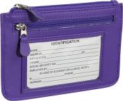 Emporium Leather RFID-118-PUR-6 Royce Leather Rfid Blocking Neat Pockets - Purple